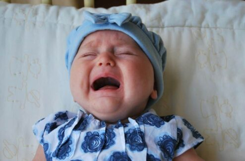 babies cry when really hungry