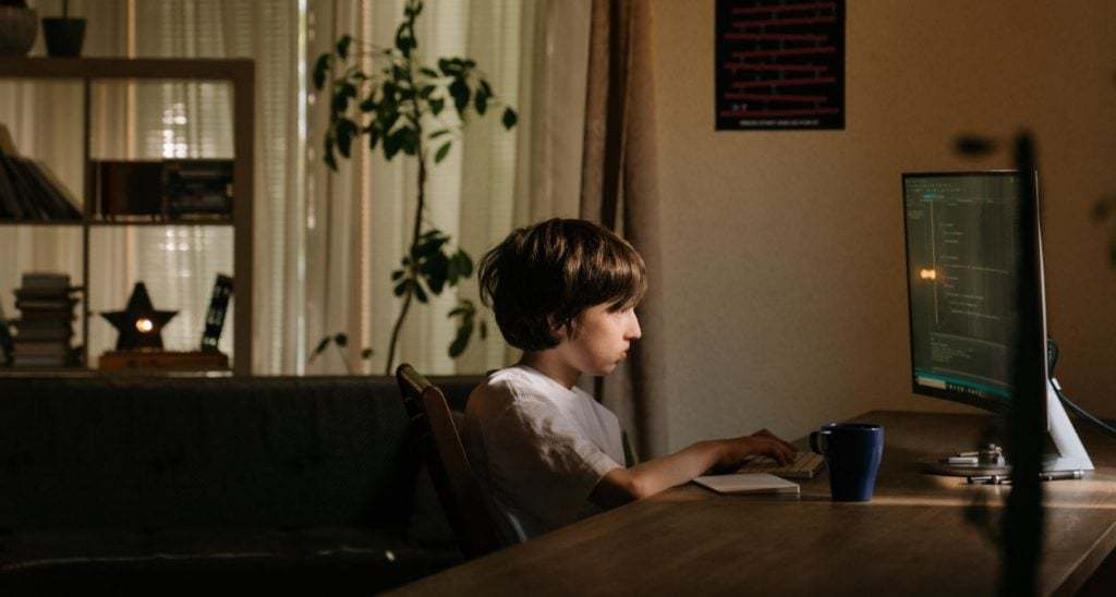teaching kids to code denies kids time to explore the outdoors