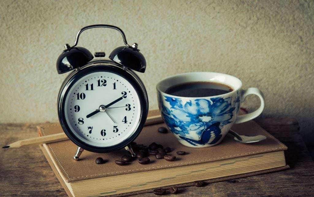 alarm clock and caffeine can leave you waking up exhausted and weak